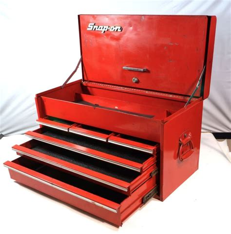 snap on tool cabinet snap on kra 56 j top chest 6 drawer tool box 26 quot x 14 5 16