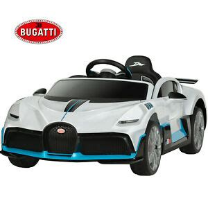 Albert divo began driving for bugatti in 1928, and he claimed two targa florio wins during his career. Uenjoy 12V Bugatti Divo Kids Ride On Car Electric Cars ...