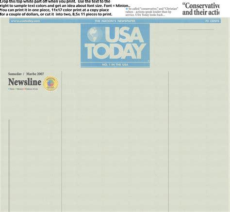 newspaper headline template blank newspaper template e commercewordpress