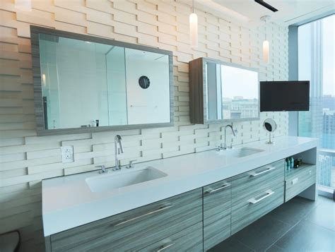 furniture large mirror sliding door bathroom vanity