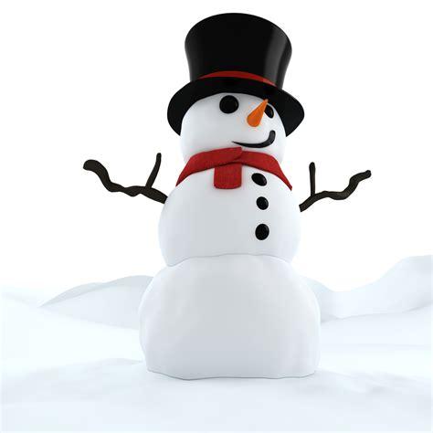 Animated Christmas Snowman