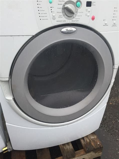 washer dryer offerup duet whirlpool frontload capacity xl