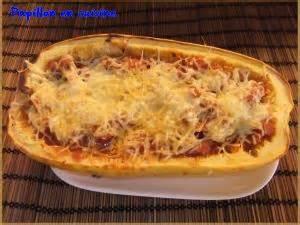 courgette spaghetti farcie