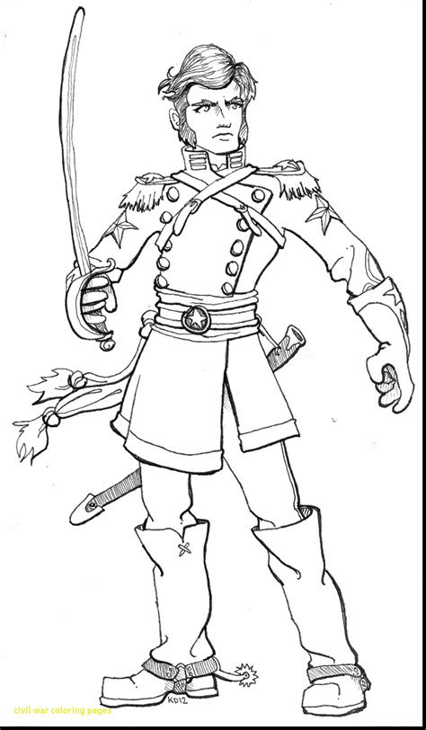 Confederate Soldier Coloring Pages at GetColorings.com