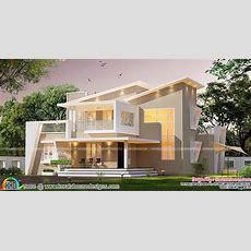 New Ultra Modern Slanting Roof Mix Home  Home Design Decor