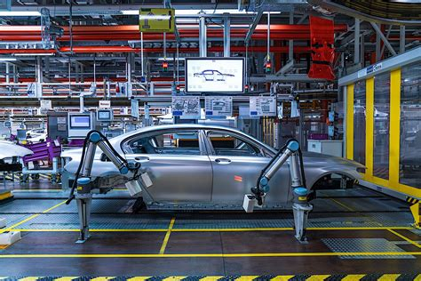 Bmw Factory In Munich Suffers Production Disruption From