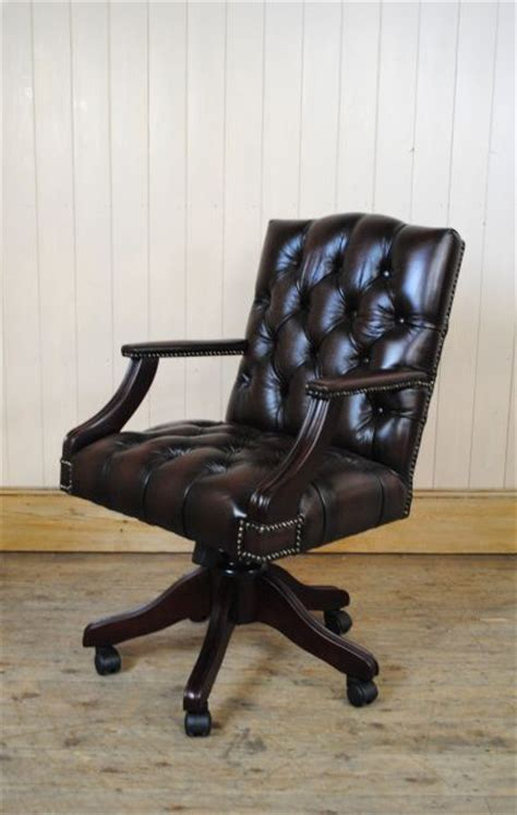 le ancienne de bureau chaise de bureau anglais