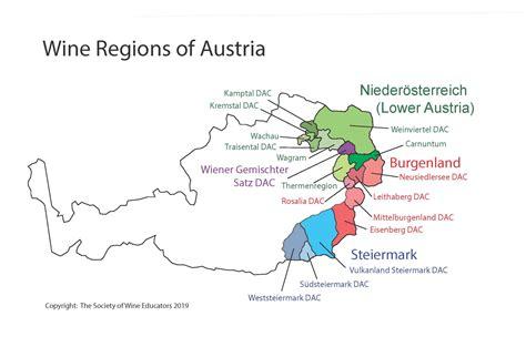 austriaswe map  wine wit  wisdom