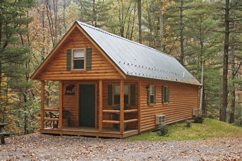 prefab log cabins adirondack tiny cabins manufactured in pa cozy cabins