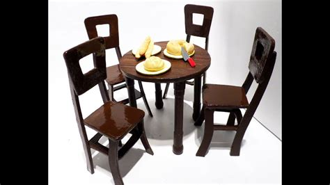 dollhouse table chairs youtube
