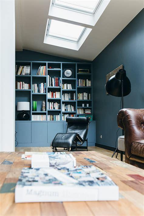 Nuances De Bleu & Style Industriel