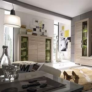 Vetrina moderna Azalea credenza con led mobile soggiorno design