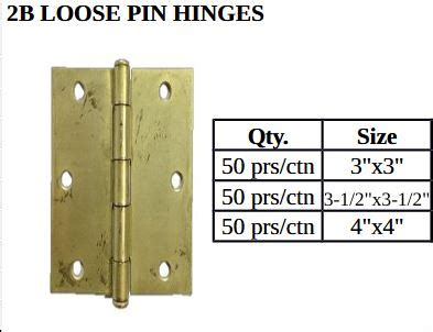 loose pin hinges pricelist philippines shipping