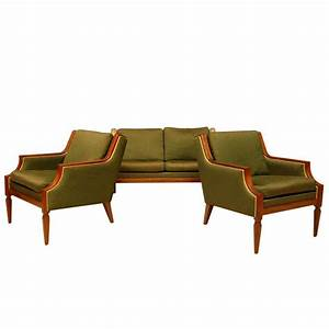 Chic three piece sofa set for sale at 1stdibs for 3 piece sectional sofa for sale