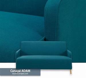 Canapé D Angle Bleu Pétrole : canap bleu 20 mod les pour vous inspirer et d corer votre salon ~ Teatrodelosmanantiales.com Idées de Décoration