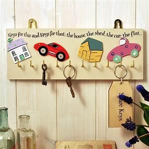 Wooden, Key, Rack, By, Angelic, Hen