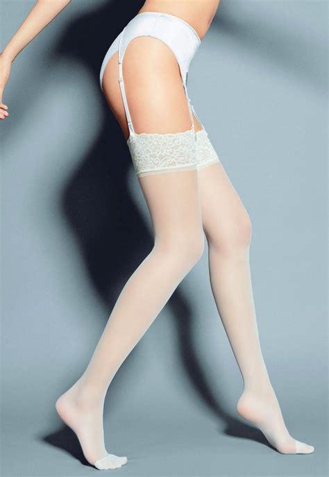 Mary 15 Den Lace Welt Sheer Stockings By Veneziana Dress
