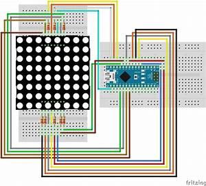 Matrix Wiring Diagram : 8x8 dot matrix led display red 3mm row cathode ~ A.2002-acura-tl-radio.info Haus und Dekorationen