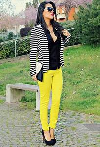 Neon Yellow Pants With Black Shirt Pictures Photos and Images for Facebook Tumblr Pinterest ...