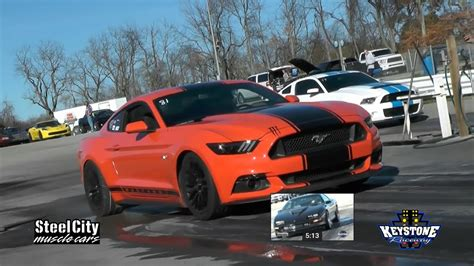 2015 Mustang Gt 0 To 60 by 2015 Ford Mustang Gt Whipple Supercharger 1 4 Mile Trap