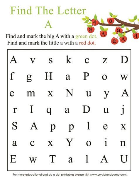 free pre k worksheets chapter 1 worksheet mogenk paper 822 | preschool do a dot printables is for apple free pre k worksheets find the letter