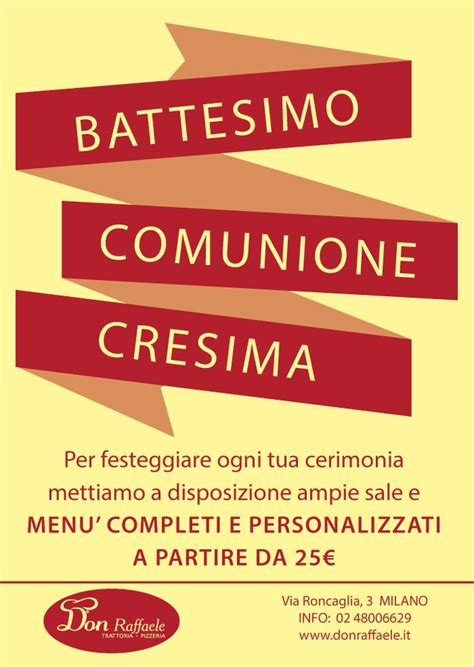 Banchetto Battesimo by Banchetto Cerimonia Battesimo Cresima Comunione A