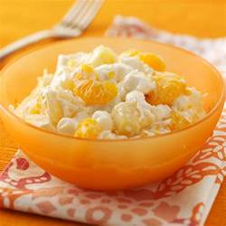 wedding appetizers ambrosia salad recipe taste of home