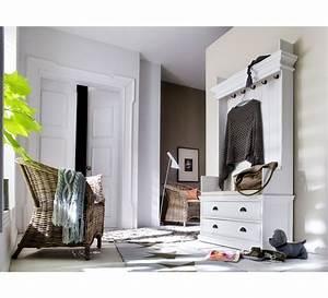 Vestiaire D Entrée : meuble vestiaire d 39 entr e en bois cygne 6437 ~ Teatrodelosmanantiales.com Idées de Décoration