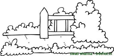 fence coloring pages