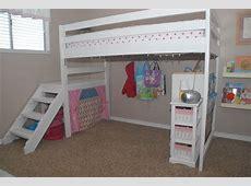 DIY Twin Loft Bedfor under $100!