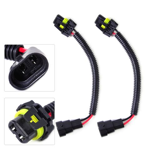 Extension Wiring Harness Socket Plug Wire Fit
