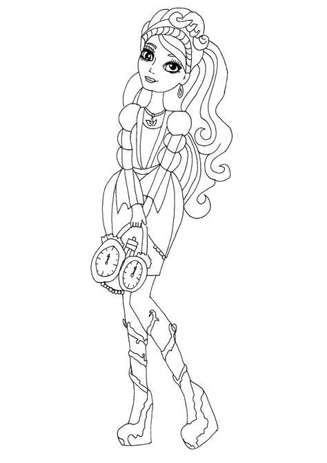 Free Able Ever After High Coloring Pages Ashlynn