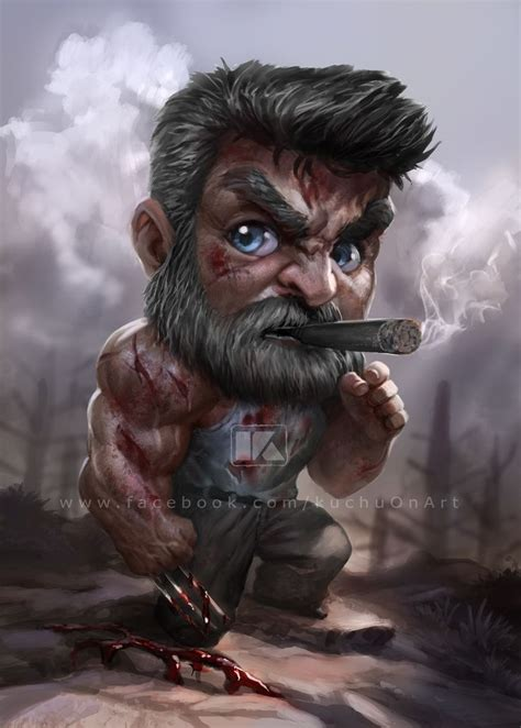 logan kuchu pack  artstation  httpswwwartstationcomartworklkokz chibi marvel