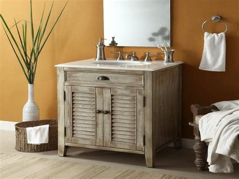 How To Make A Rustic Bathroom Vanity by 17 Amazing Rustic Bathroom Vanity Ideas Protoolzone