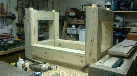 workbench board jack plans  woodworking