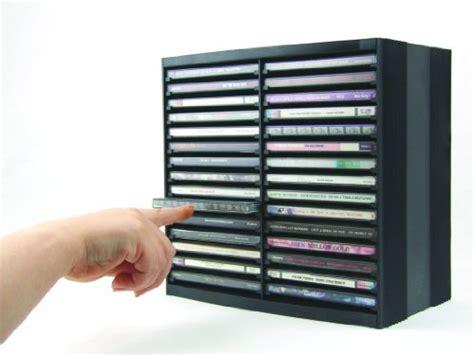 aufbewahrung dvd platzsparend rangement cd fellowes