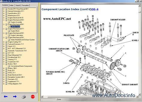 manual repair autos 2002 honda pilot engine control honda cr v 1997 2000 2002 2006 service manual repair manual order download