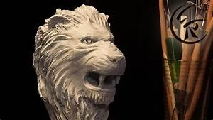 Sculpting  U0026quot Lion Head U0026quot  Timelapse