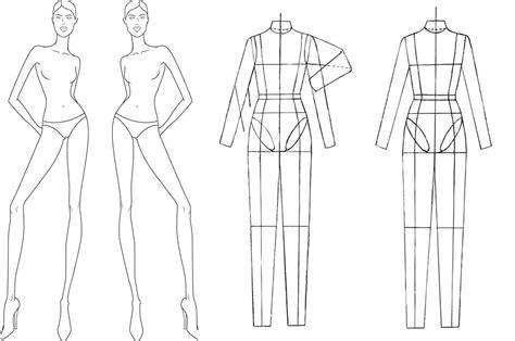 sketch templates croquis dctdesigns creative canvas page 2