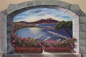 Image Trompe L Oeil : trompe l 39 oeil su tela ~ Melissatoandfro.com Idées de Décoration
