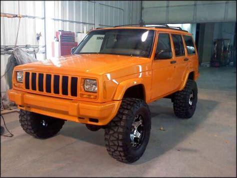 jeep cherokee orange painting of the xj page 2 jeep cherokee forum