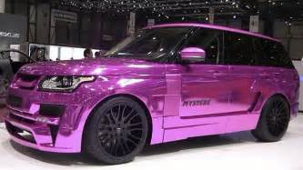 rose gold hummer gold range rover with a 666 number plate flown in by