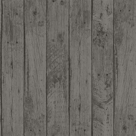 beechwood charcoal wood planks wallpaper departments diy  bq store revamp wood plank