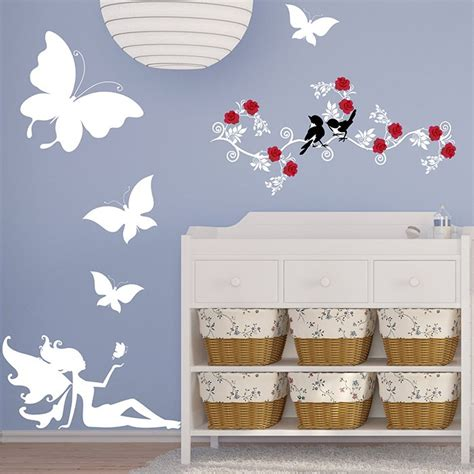 stickers papillon chambre bebe digpres