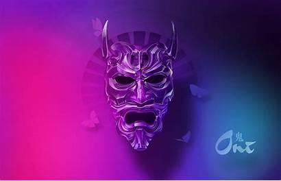 Oni 4k Mask Wallpapers Desktop Resolution обои