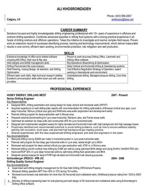 awesome offshore resume sles photos simple resume