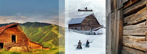 Steamboat Springs Barn by Steamboat Springs Iconic Barn Timbers Resorts