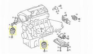 Cal U00e7o Motor Mercedes W202 C200 Kompressor 1995-2000 Original