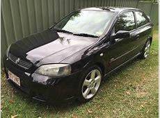 2003 Holden Astra TS SRI Turbo Black Used Vehicle Sales