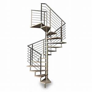Escalier Hlicodal Carr Rampe Inox